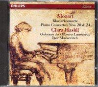 モーツァルト:ピアノ協奏曲第20,24番 ハスキル,マルケヴィチ (412254)