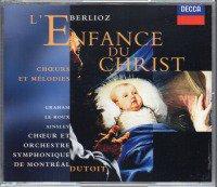 メイン画像:ベルリオーズ:キリストの幼時 他 デュトワ=OSM 他 (458915・2CD)ジャケット写真