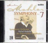 マーラー:交響曲第7番 クーベリック=SOBR /LIVE (AUDITE*95.476)