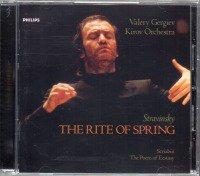 ストラヴィンスキー:春の祭典,スクリャービン:法悦の詩 ゲルギエフ=キーロフo (468035)