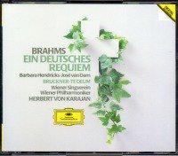 ブラームス:ドイツ・レクイエム,ブルックナー:テ・デウム カラヤン=BP 他 (F66G50187・2CD)