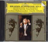 ブラームス:交響曲第2番,アルト・ラプソディ アバド=BP 他 (427643)