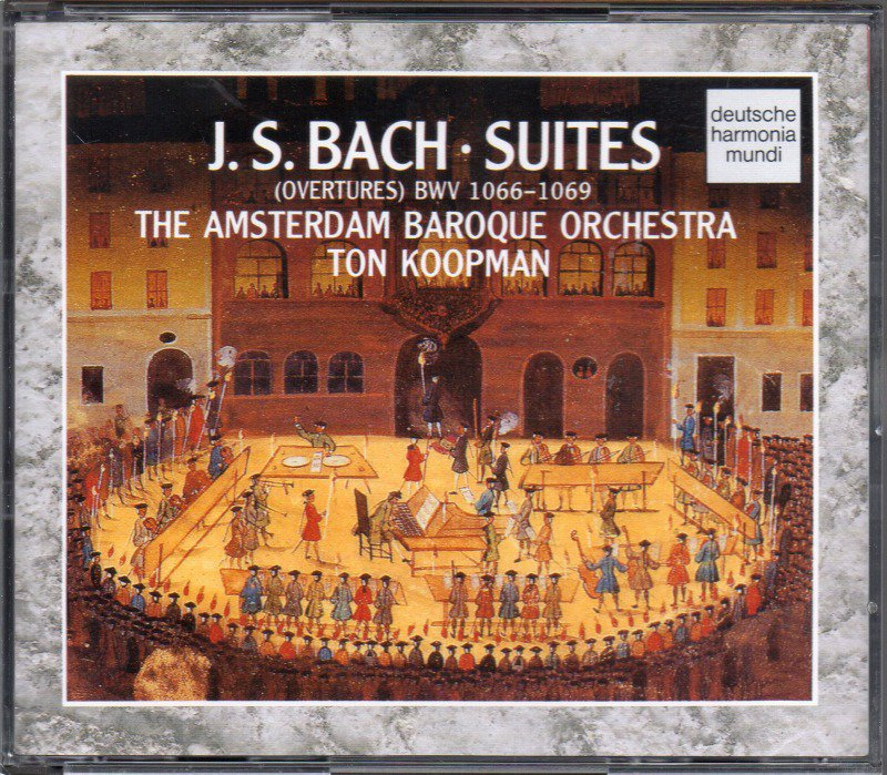 メイン画像:バッハ:管弦楽組曲全曲 コープマン=ABO /88年 (RD77864・2CD)ジャケット写真