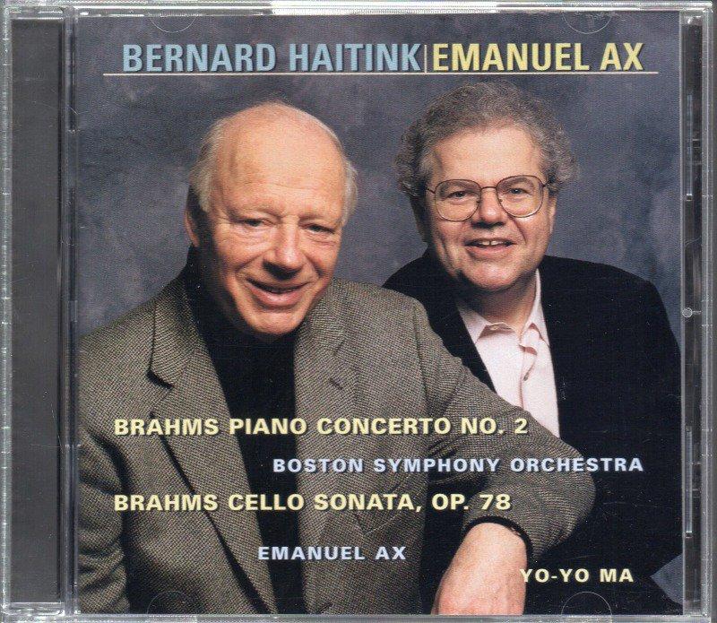 メイン画像:ブラームス:ピアノ協奏曲第1番 他 アックス,ハイティンク=BSO 他 (SK63229)ジャケット写真