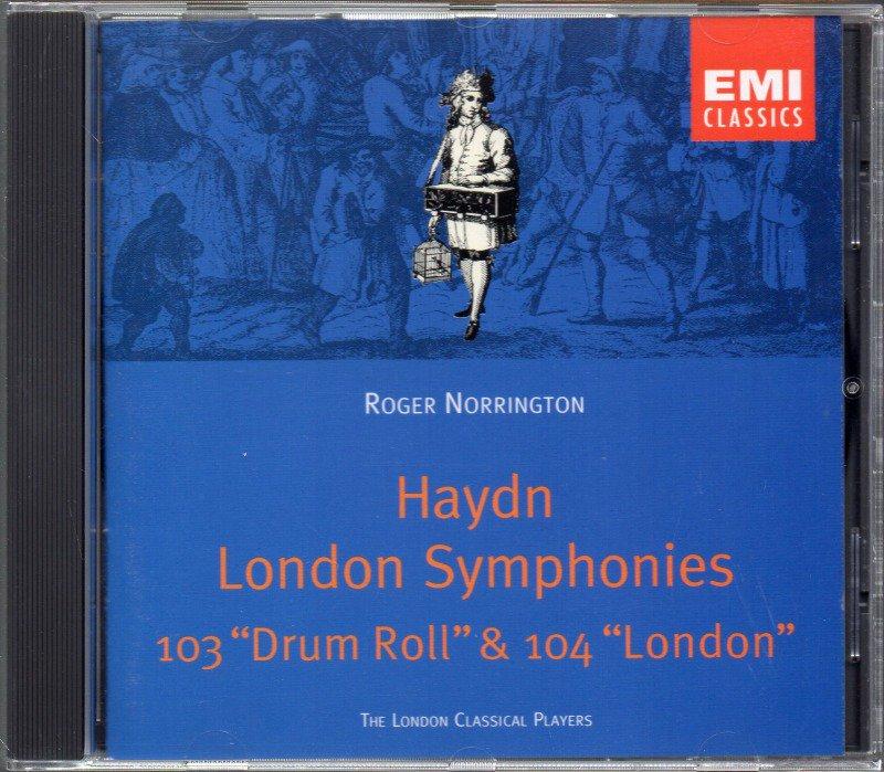 メイン画像:ハイドン:交響曲第103,104番 ノリントン=LCP (CDC555002)ジャケット写真