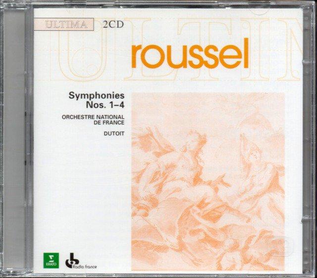 メイン画像:ルーセル:交響曲全曲 デュトワ=フランス国立o (外ERATO・2CD)ジャケット写真