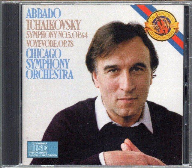 メイン画像:チャイコフスキー:交響曲第5番,地方長官 アバド=CSO (MK42094)ジャケット写真