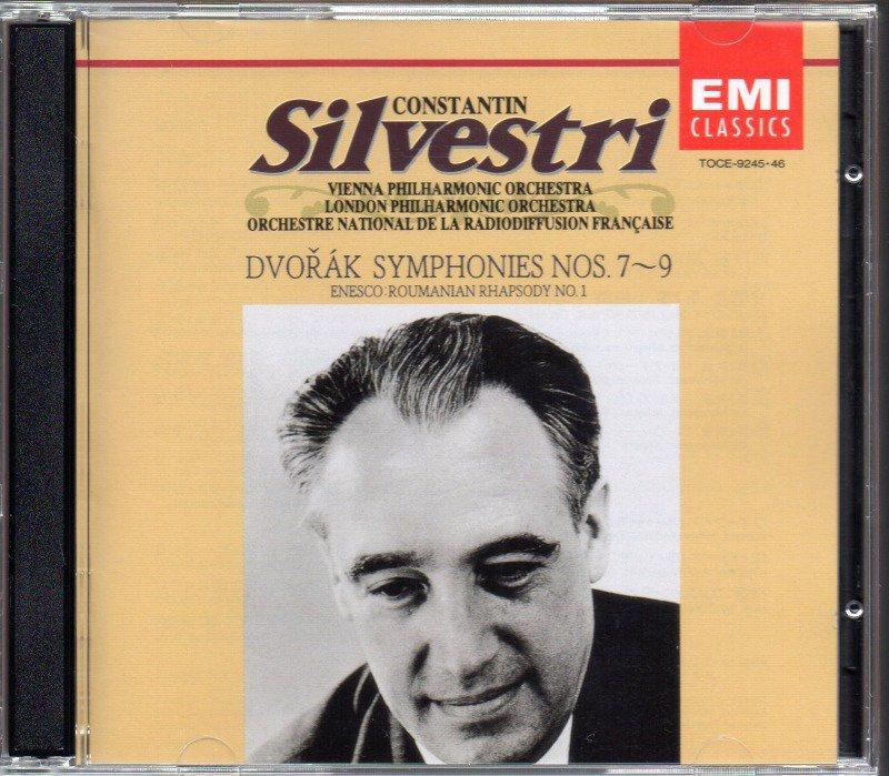 ドヴォルザーク:交響曲第7〜9番 他 シルヴェストリ=WP, LPO 他 (TOCE9245・2CD)