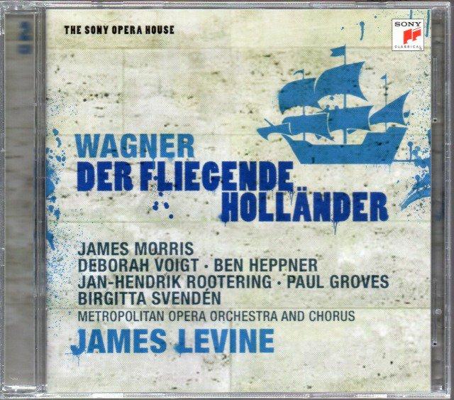 メイン画像:ワーグナー:さまよえるオランダ人 レヴァイン=MET; モリス(Bs) (外SONY・2CD)ジャケット写真