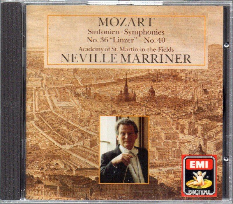 メイン画像:モーツァルト:交響曲第36,40番 マリナー=ASMF (CDC749073)ジャケット写真