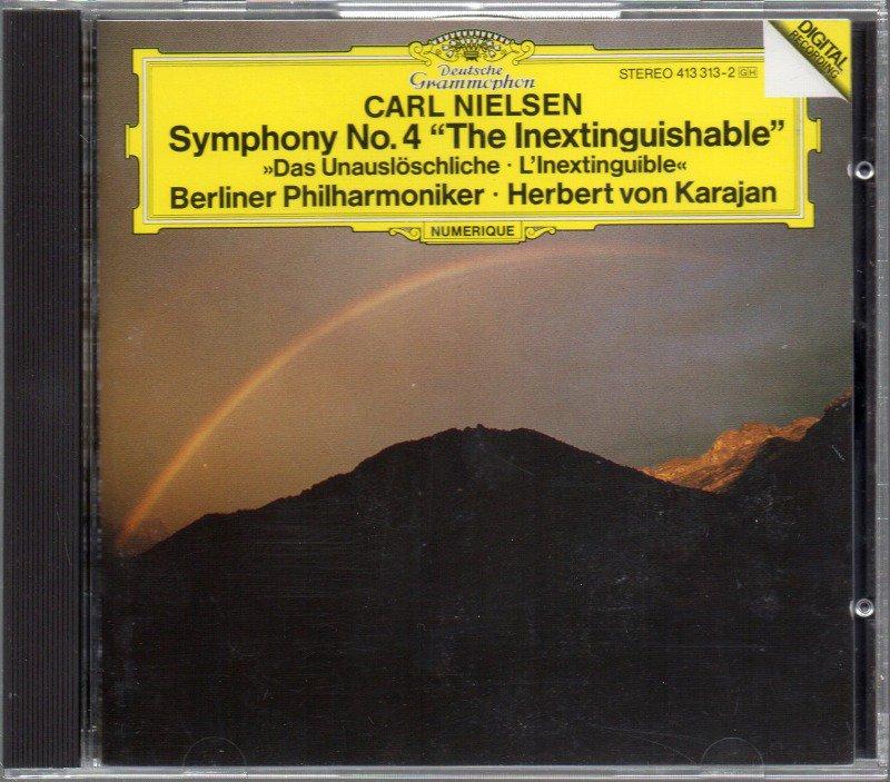 メイン画像:ニールセン:交響曲第4番 カラヤン=ベルリンpo (DG*413313)ジャケット写真