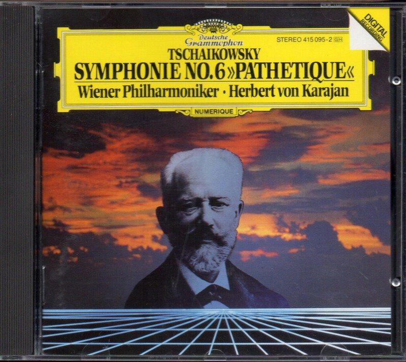 チャイコフスキー:交響曲第6番 カラヤン=WP (DG*415095)