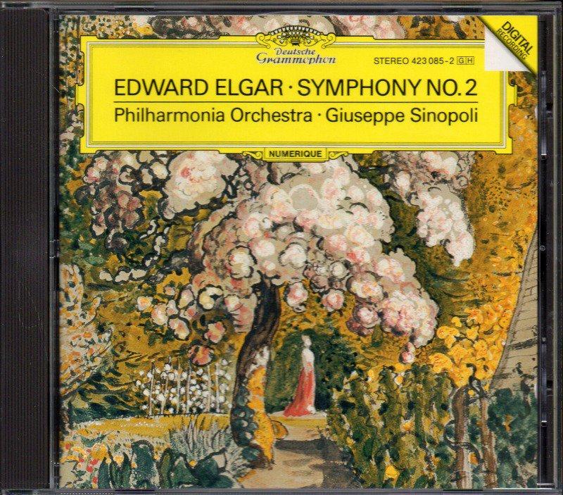 メイン画像:エルガー:交響曲第2番 シノーポリ=フィルハーモニアo (外DG)ジャケット写真