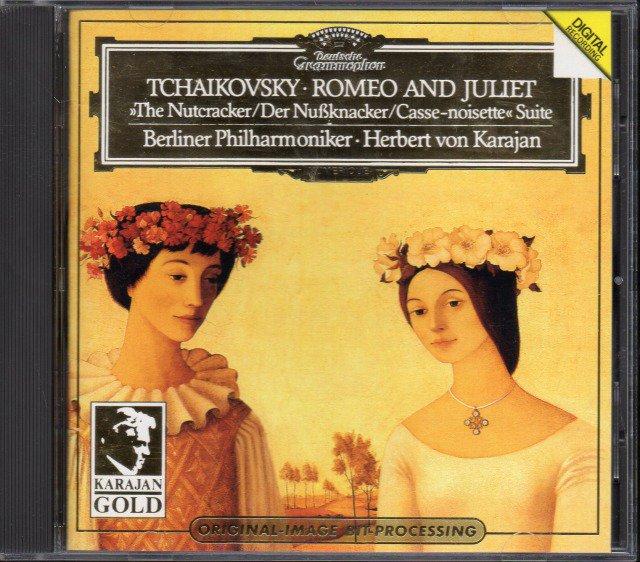 チャイコフスキー:ロメオとジュリエット,くるみ割り人形 カラヤン=BP (外DG)