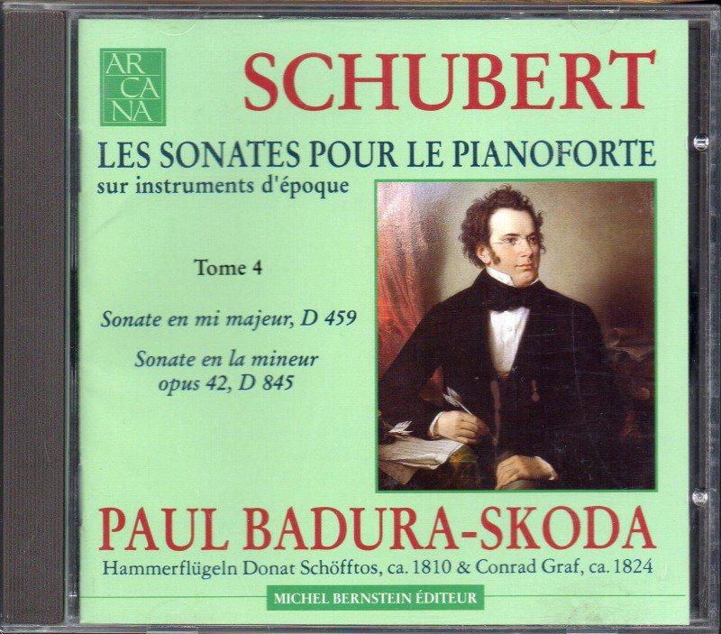 シューベルト:ピアノ・ソナタ第3,15番 Bスコダ(fp) (ARCANA*A14)