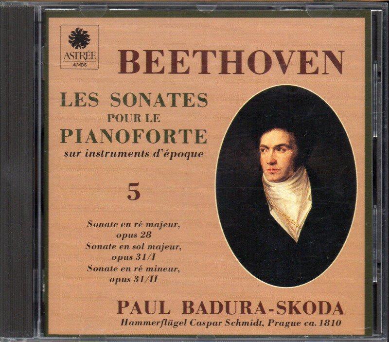 ベートーヴェン:ピアノ・ソナタ第15〜17番 Bスコダ(fp) (E8695)
