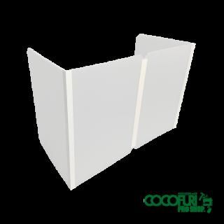 プラ段製飛沫ガード コの字型H600