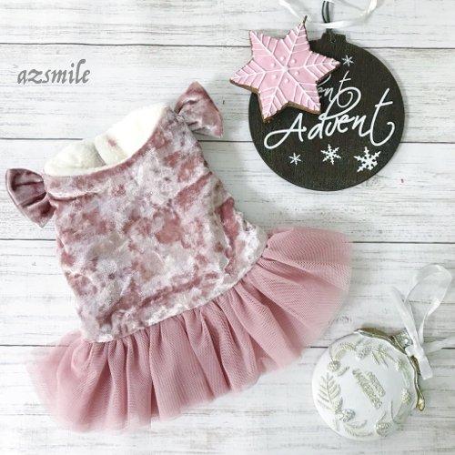 8a4a03811ab9f ... ベルベットピンクドレス ...