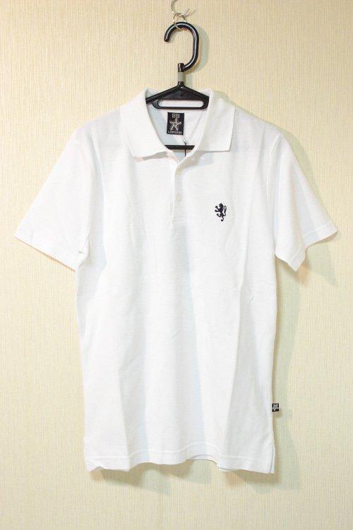 BB LONDON 鹿の子ポロシャツ ホワイト