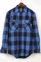 【BIGBILL】ビックビル ヘビーウェイトブラウニーフランネルシャツ ブルーHeavyweight BRAWNYFLANNEL Shirt