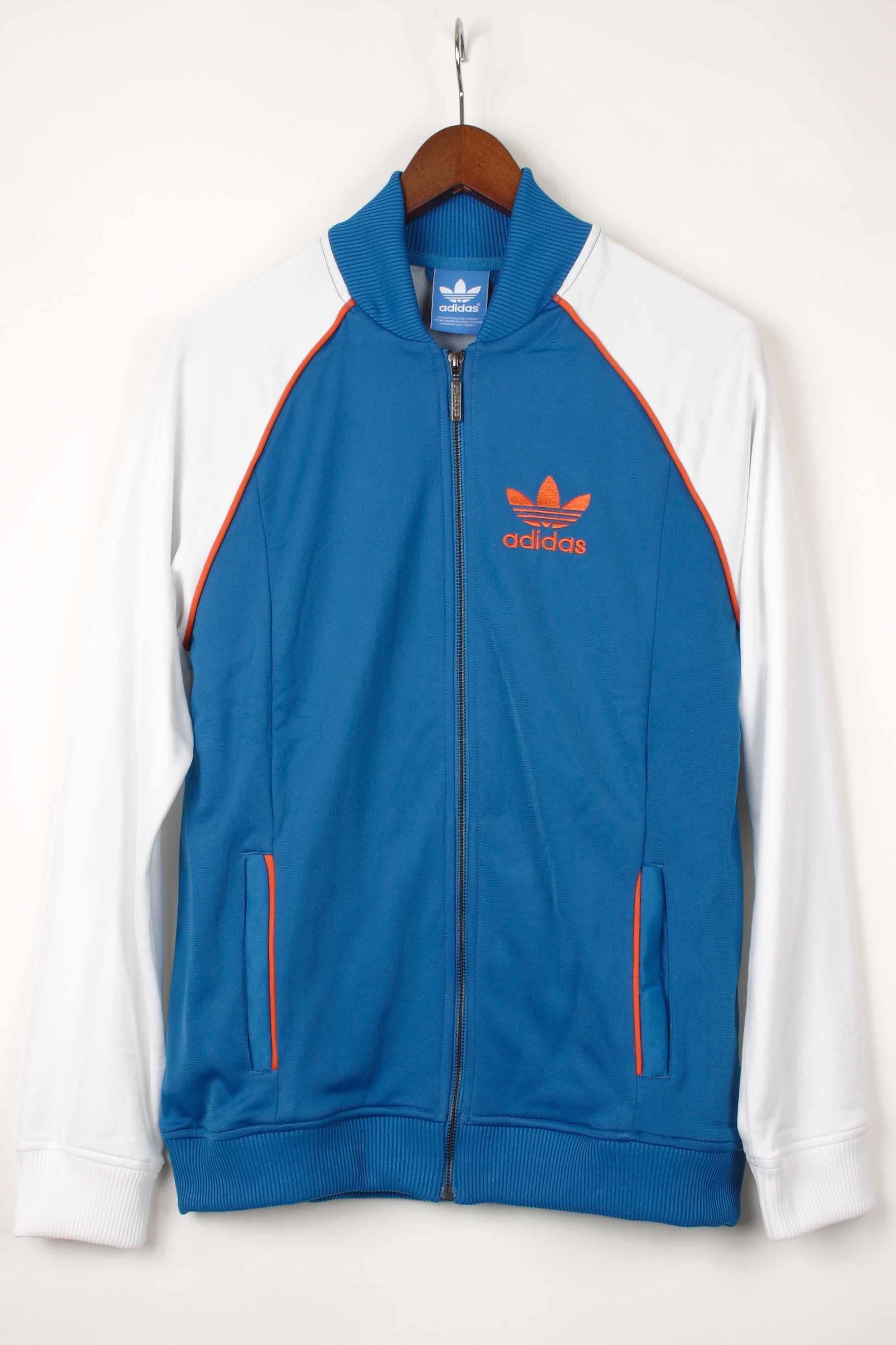 【adidas】アディダス スーパースタートラックトップ ジャージ ブルー SuperStarTrackTop Jersey blue