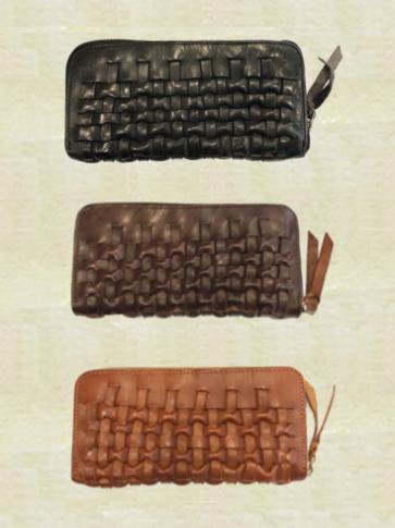 牛革製長財布