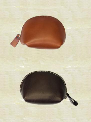 牛革製コインケース
