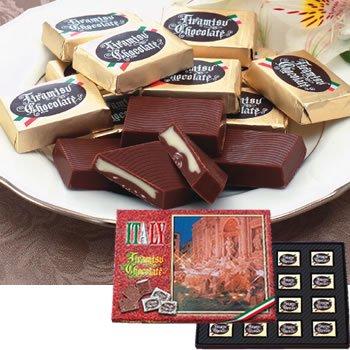 ティラミスチョコレート 6箱☆イタリアみやげ●代引限定700円