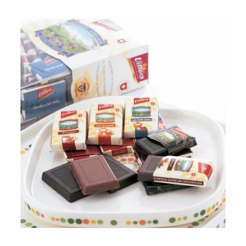 スイス ミニチュア アソートチョコレート 3箱☆スイスみやげ●代引限定