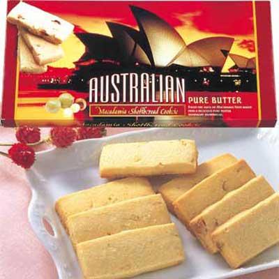 オペラハウス マカデミアナッツショートブレッド 1箱☆オーストラリア土産●代引限定