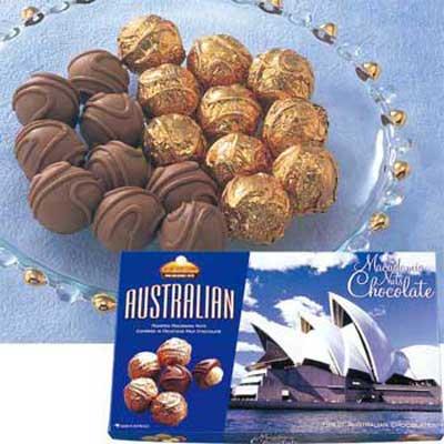 オペラハウス マカデミアナッツチョコレート 6箱セット☆オーストラリア土産●代引限定