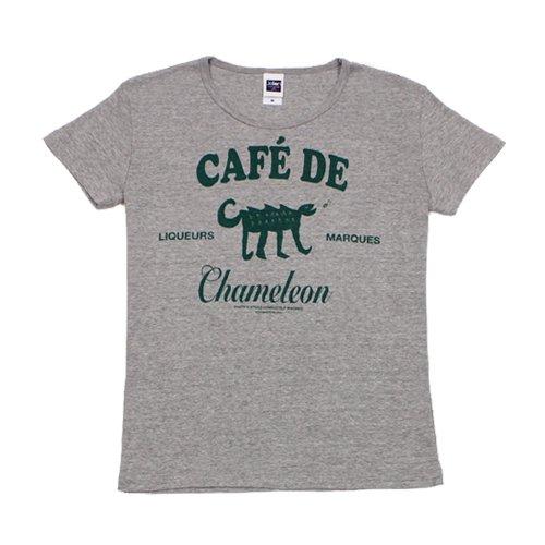 《カメレオン・カフェTシャツ》レディースサイズ