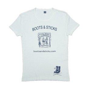 《パペットTシャツ ノスタルジックブルー》