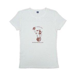《玉乗り象Tシャツ ブラウン》