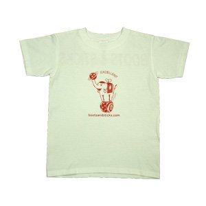 [玉乗り象Tシャツ・オレンジ]キッズ140cmサイズ・150cmサイズ