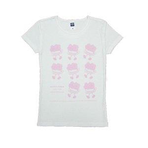 《花火缶Tシャツ》ウォーキング・ピンク