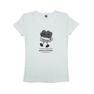 《花火缶Tシャツ》シングル・黒