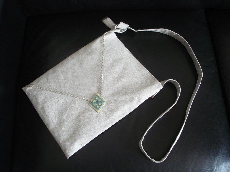 postal bag 封シール「ミドリ」