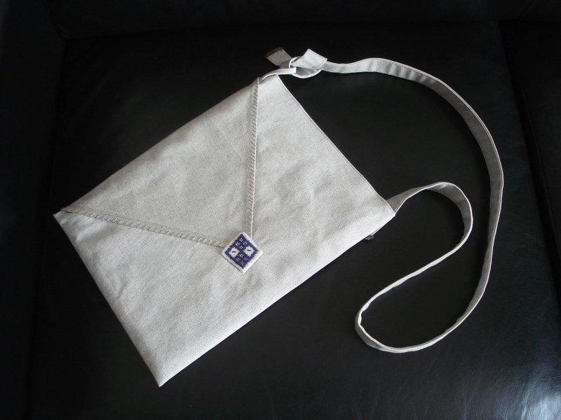 postal bag 封シール「ブルー」
