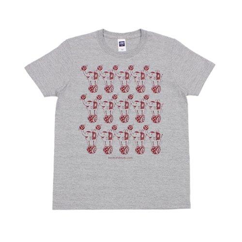 《ファンシー・ミーティングTシャツ グレー》JSサイズ・JMサイズ