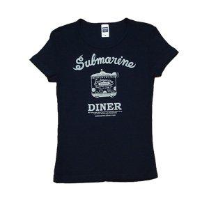 《サブマリン・ダイナーTシャツ・ネイビー》