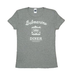 《サブマリン・ダイナーTシャツ・グレー》