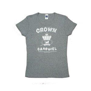 《クラウン・カルーセルTシャツ・グレー》