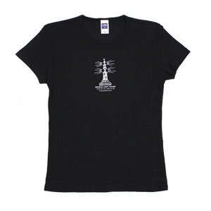 《ダブル・ライトハウスTシャツ・黒》