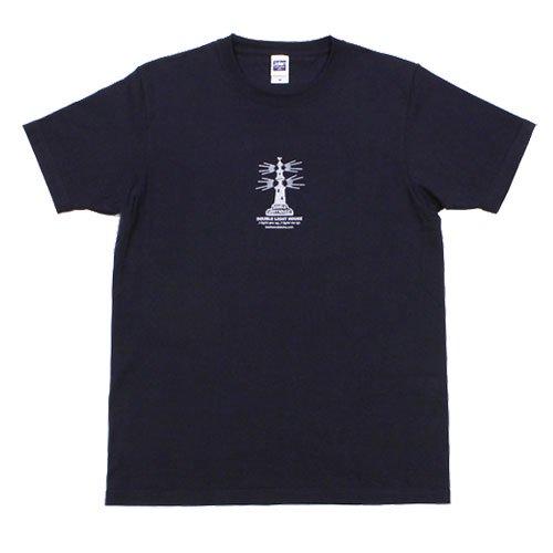 《ダブル・ライトハウスTシャツ・ネイビー》JSサイズ・JMサイズ