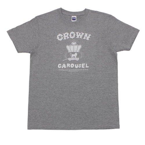 《クラウン・カルーセルTシャツ・グレー》JSサイズ・JMサイズ
