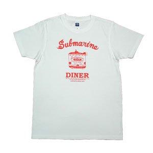 《サブマリン・ダイナーTシャツ》JSサイズ・JMサイズ 赤