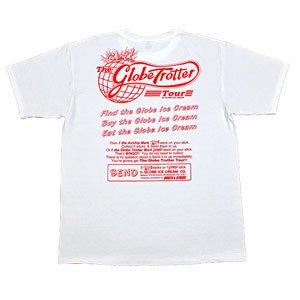 【グローブ・トロッター・ツアーTシャツ】赤 青 緑