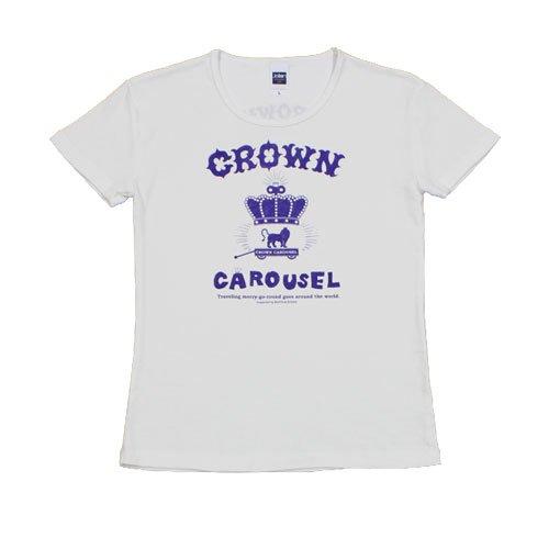 《クラウン・カルーセルTシャツ・ヴァイオレット》