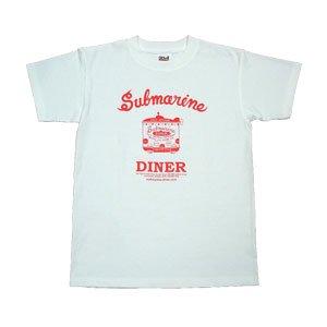 [サブマリン・ダイナーTシャツ赤]キッズ140cmサイズ・150�サイズ